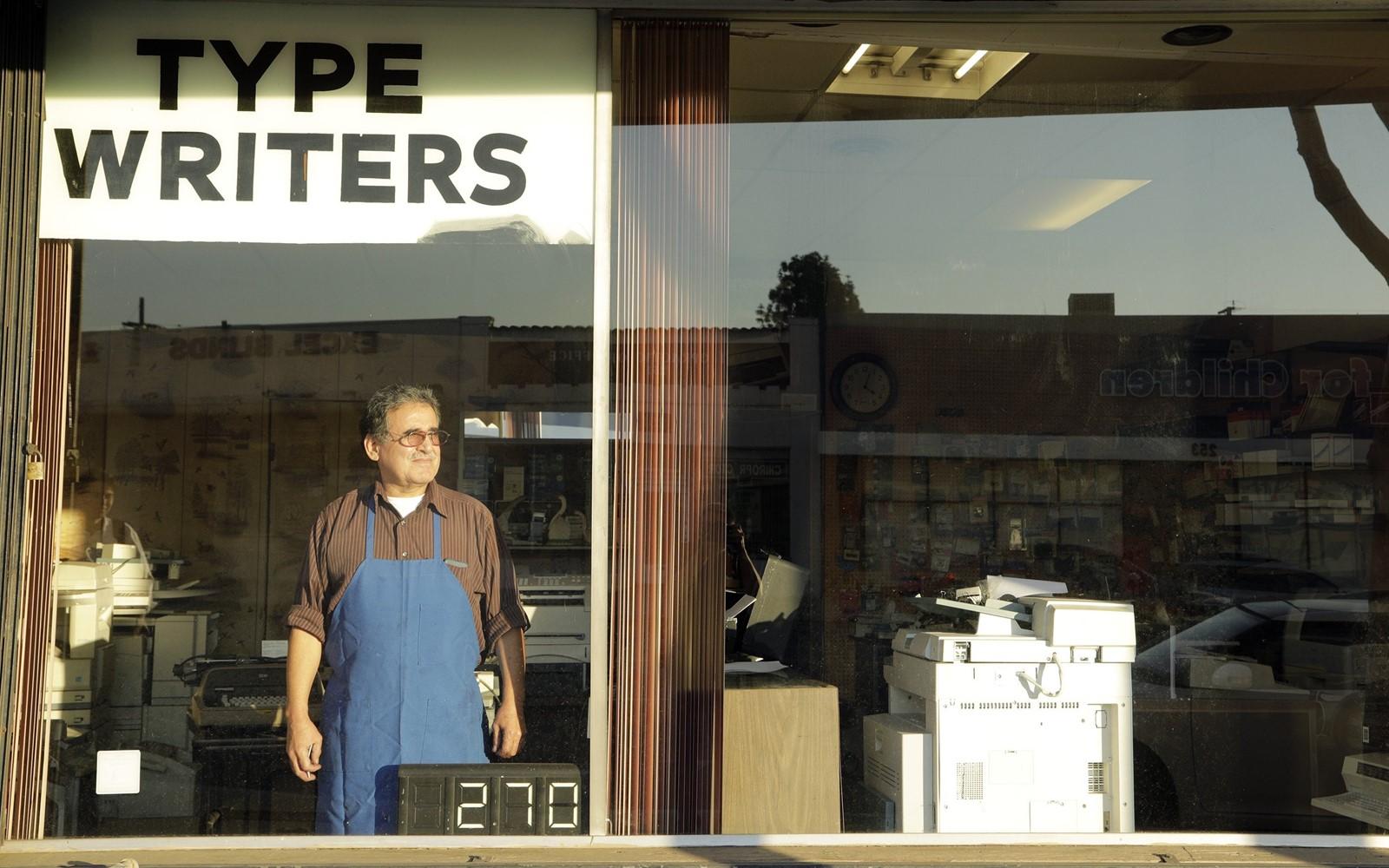 Print Repairman keeps trusty typewriters clicking A RENEWED interest