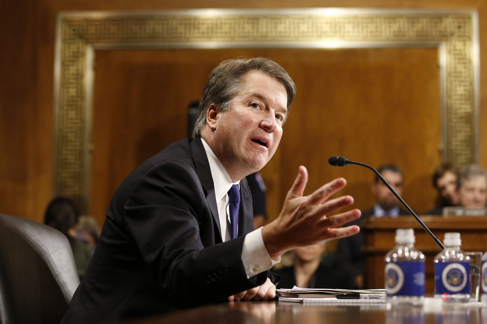 Print Too partisan for high court? Kavanaugh's bitter testimony