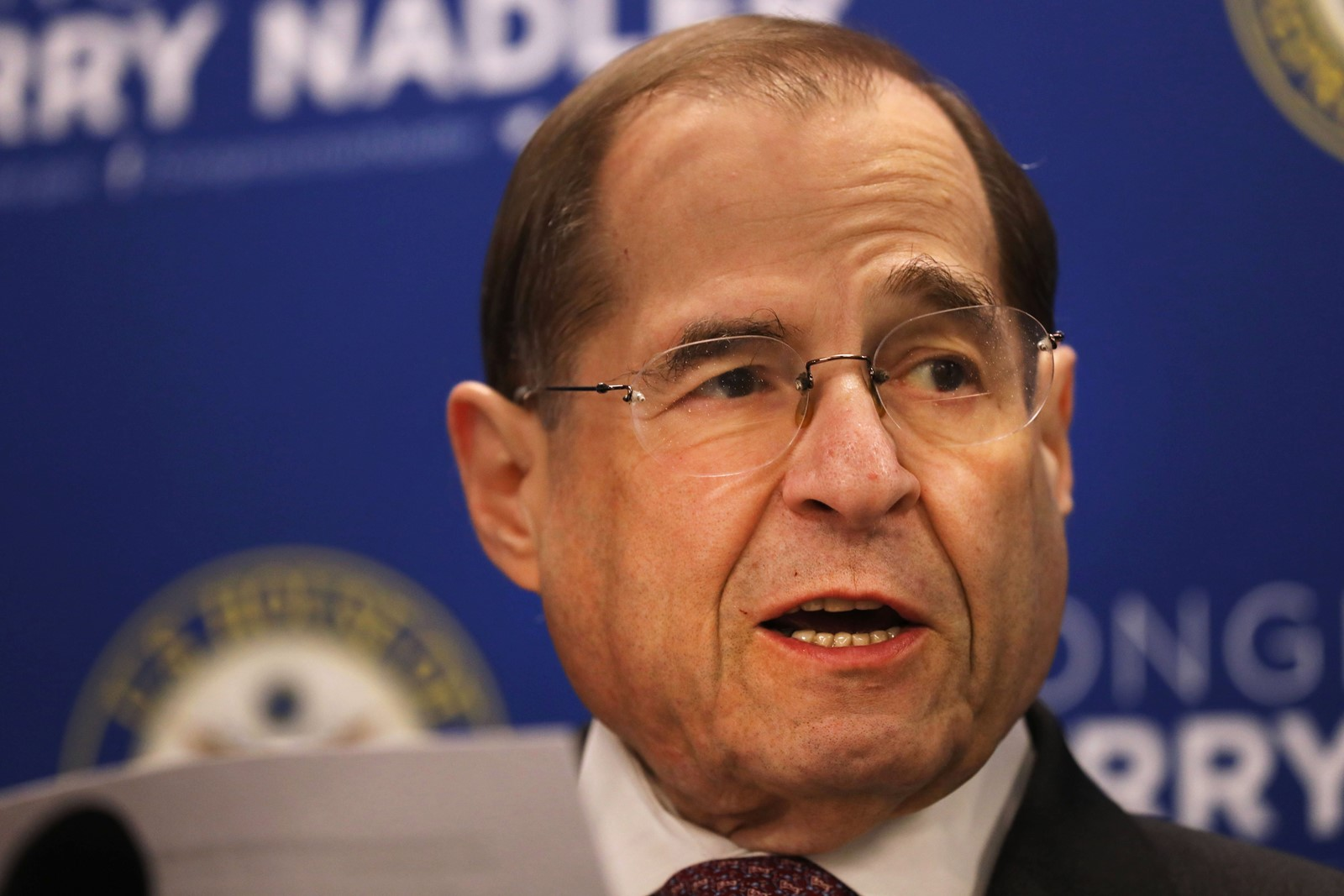 "Jerrold Nadler, head of the House Judiciary Committee, said that ""even the redacted version of the report outlines serious instances of wrong-doing."" — Photograph: Spencer Platt/Getty Images."