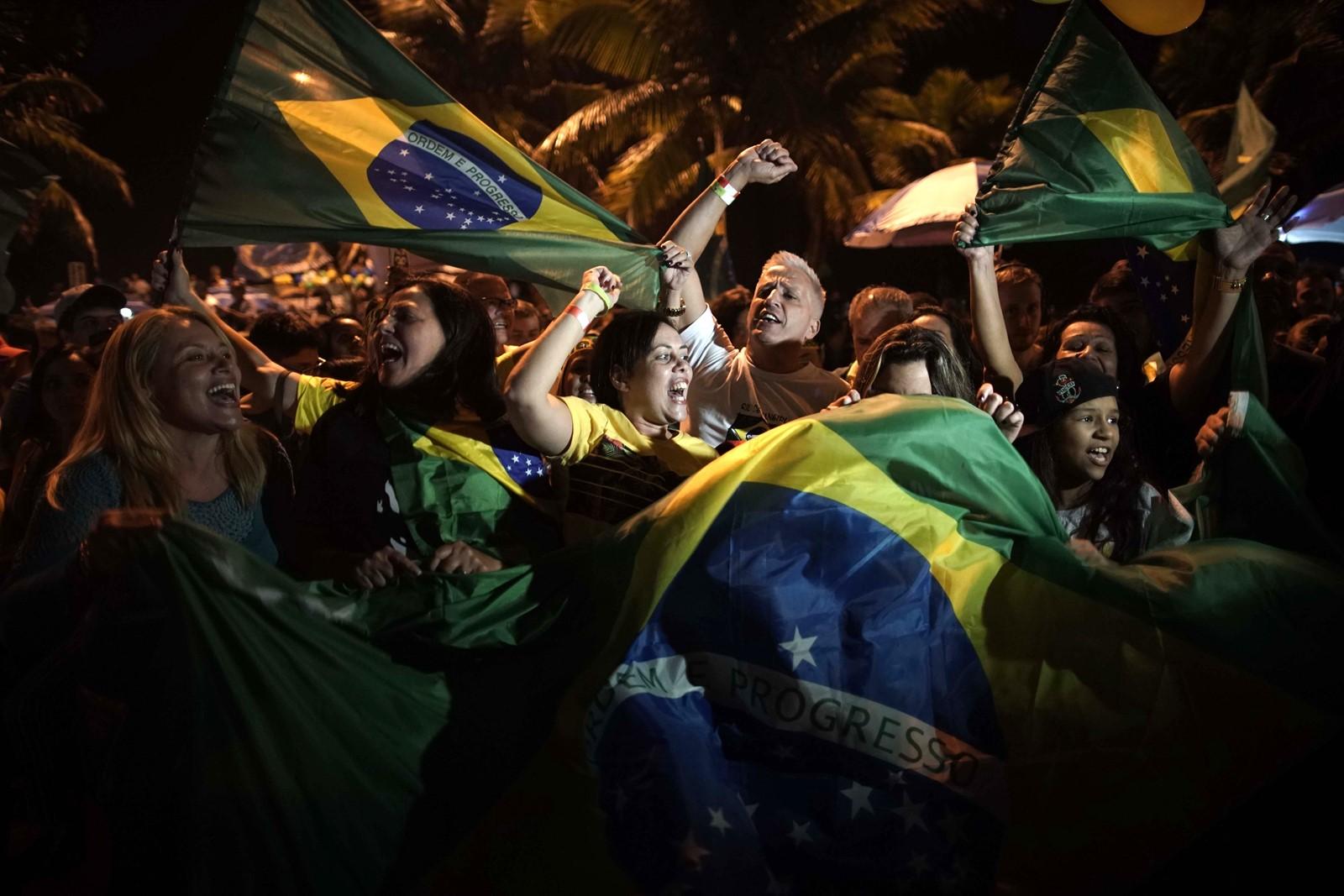 Print Far-right populist wins presidential election in Brazil Jair