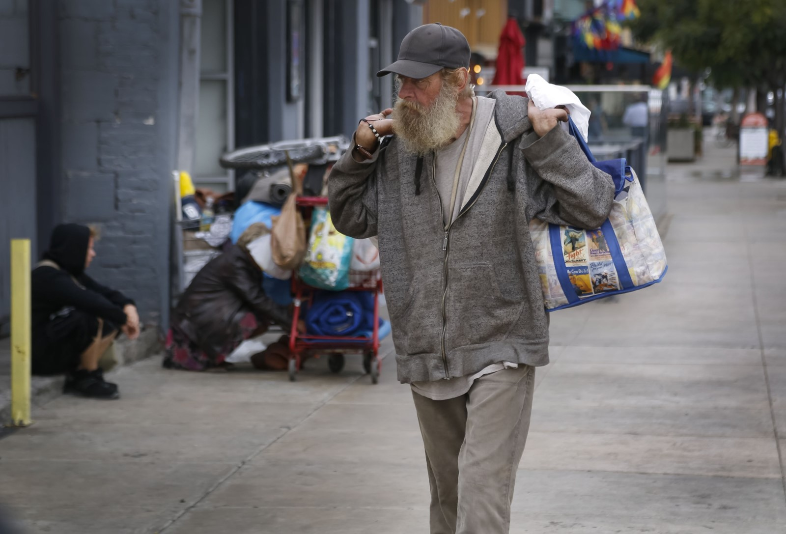 Print Data show homeless on the move in San Diego Annual